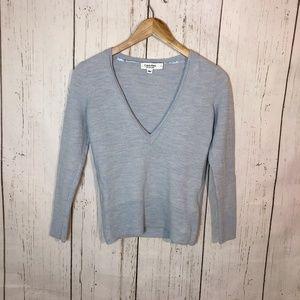 Vintage 90's Calvin Klein Blue Merino Wool Sweater